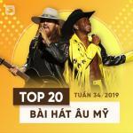 Tải nhạc Top 20 Bài Hát Âu Mỹ Tuần 34/2019 hot