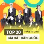 Tải bài hát Top 20 Bài Hát Hàn Quốc Tuần 34/2019 mới online